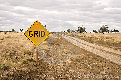 Road sign - Grid