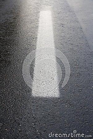 Road sign line