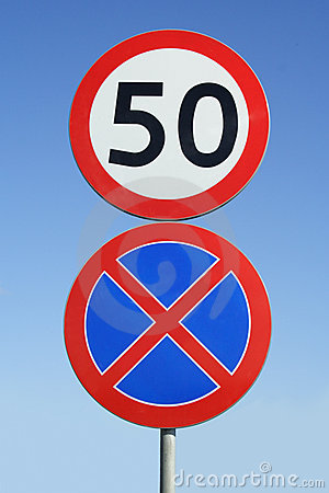 Road Signs Royalty Free Stock Photos - Image: 9325618