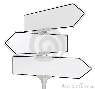 Free Road Signs X 3. Royalty Free Stock Images - 25551139