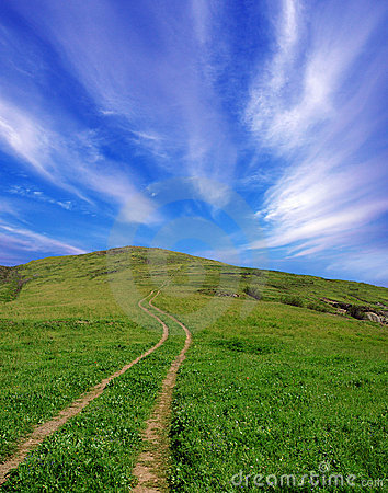 The road for the sky