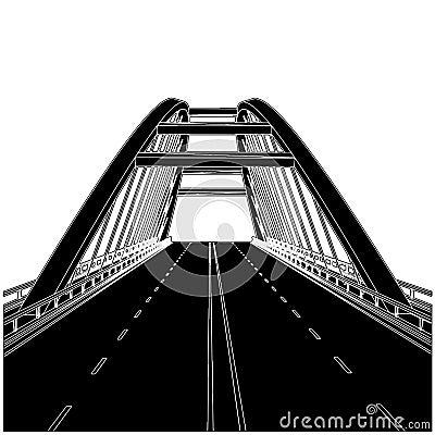 Free Road The Bridge Vector 01 Stock Photography - 16585232