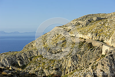 Road to Cape Formentor (Majorca, Spain)