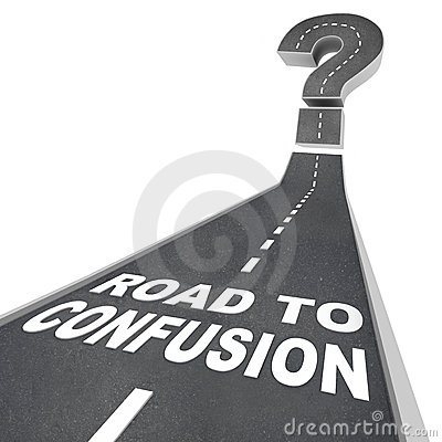 Road to Confusion - Words on Street