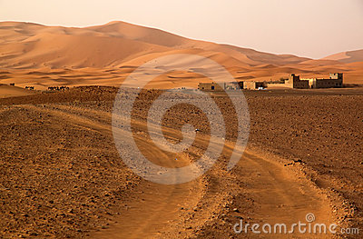 Road to the Dunes