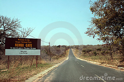 Road to Kruger Park