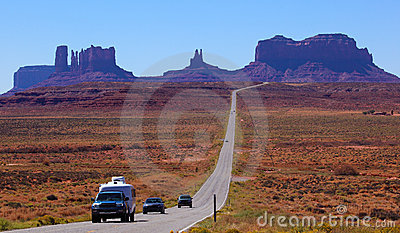 Road to Monument Valley , Utah, USA