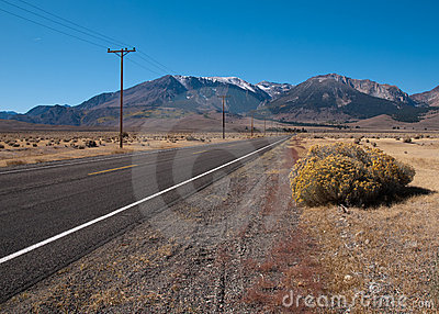 Road To The Mountains Royalty Free Stock Photos - Image: 13413468
