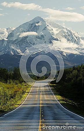 Free Road To Mountains Stock Image - 888801