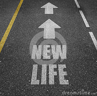 Free Road To New Life Royalty Free Stock Photo - 89815305