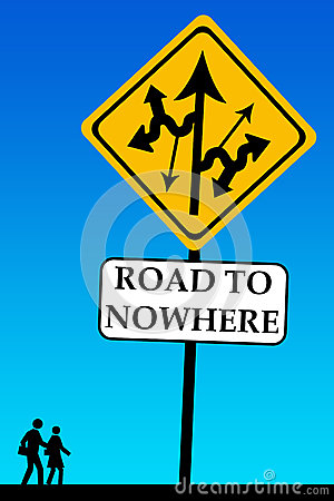 Free Road To Nowhere Stock Images - 33596504