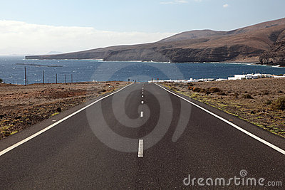 Road to Playa Quemada Lanzarote