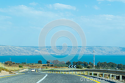 Road to the Sea of Galilee