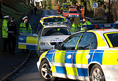 Road traffic accident 3 Editorial Stock Photo