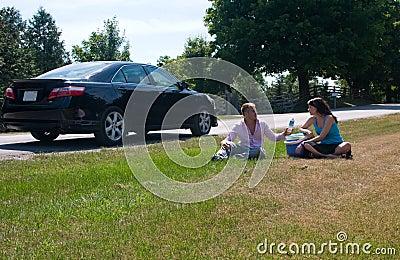 Road Trip - Taking a break