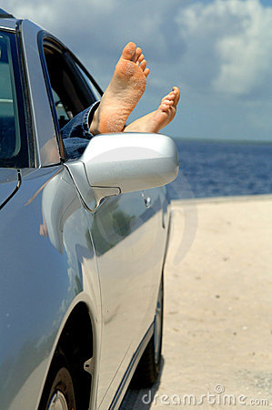 Free Road Trip To Beach Royalty Free Stock Photography - 6190077