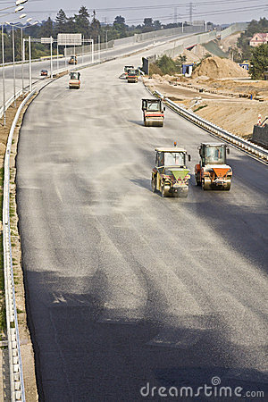 Road under construction