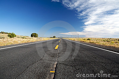 Road in USA