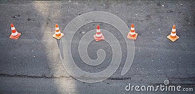 Roadmarker cones