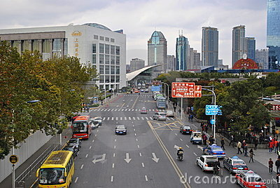 Roads in China Editorial Photo