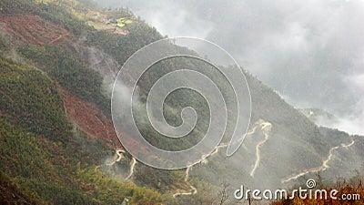 Roads in clouds