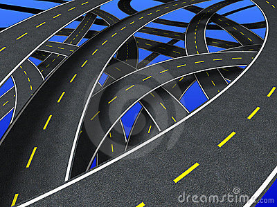 Roads (segmented strip)