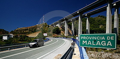 Roads in Spain Editorial Image