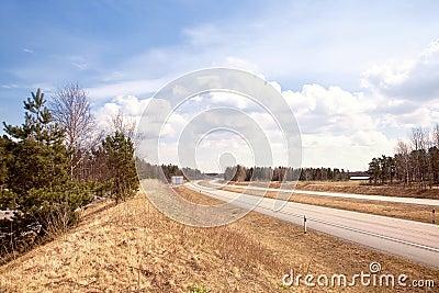 Roadside highway