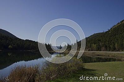 Roadside Lake