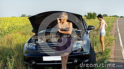 Roadside motor vehicle breakdown