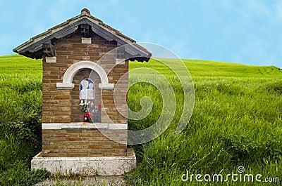 Roadside shrine, Italy