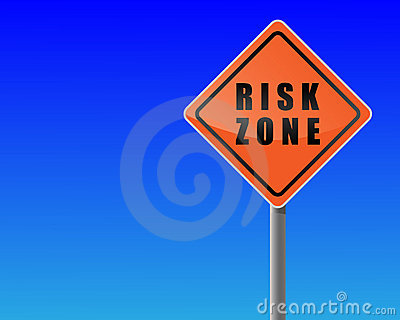Roadsign risk zone.