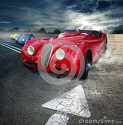 Roadsters do vintage