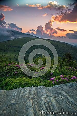 Roan Highlands sunset