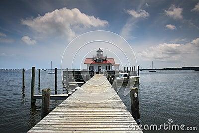 Roanoke Marshes Lighthouse Manteo NC