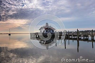 Roanoke Marshes Lighthouse North Carolina