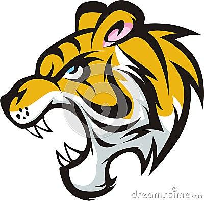 Roaring Tiger Colored