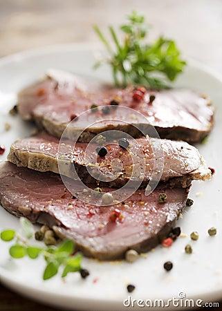 Free Roast Beef Stock Image - 3954381
