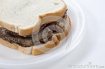 Roast Beef Sandwich, Close Up