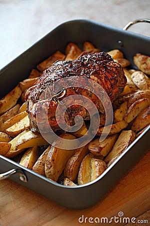 Roast of lamb
