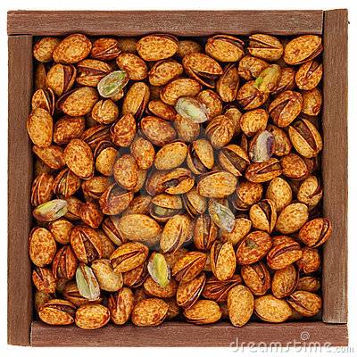 Roasted chili lemon pistachios