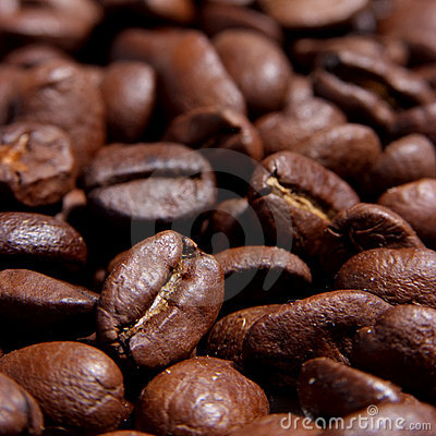 Free Roasted Coffee Beans Royalty Free Stock Photos - 7215678