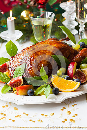 Free Roasted Duck Royalty Free Stock Images - 44838159
