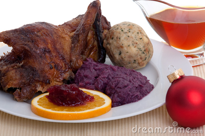 Roasted Duck At Christmas Stock Photography - Image: 16732212