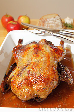 Free Roasted Goose Stock Photo - 17003500