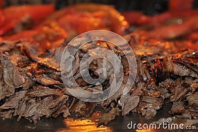 Roasted meat - Turkish doner kebab