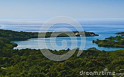 Roatan on the Caribbean Sea, Honduras