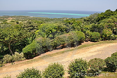 Roatan in the Honduras