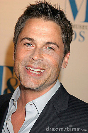 Rob Lowe Editorial Image