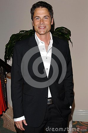 Rob Lowe Editorial Stock Photo